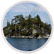 Fanette Island Tea Party Round Beach Towel