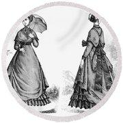Fashion: Women, 1868 Round Beach Towel