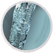 Faucet Water 1 Round Beach Towel