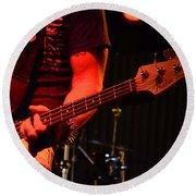 Fender Bender Round Beach Towel by Bob Christopher