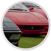 Ferraris 4 Round Beach Towel