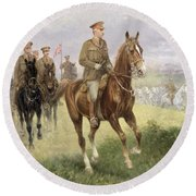Field Marshal Haig Round Beach Towel