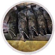 Fish Market Seville Metropol Parasol Round Beach Towel