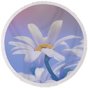 Flower For You Round Beach Towel