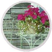 Flower Pots ...... 4 Round Beach Towel