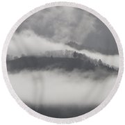 FOG Round Beach Towel