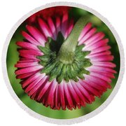 Folded Flower Round Beach Towel