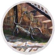 Folding Bicycle Antigua Round Beach Towel