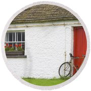 Folk Village Museum, Glencolmcille Round Beach Towel