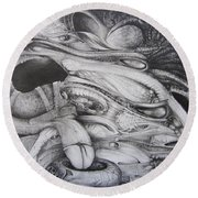 Fomorii General Round Beach Towel