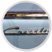 Ford Crestline Round Beach Towel