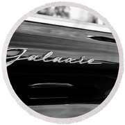 Ford Galaxie Round Beach Towel