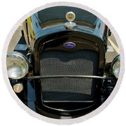 Ford Street Rod Round Beach Towel