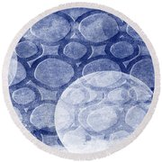 Formed In Winter Round Beach Towel