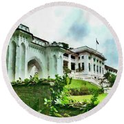 Fort Canning Park Visitor Centre Round Beach Towel