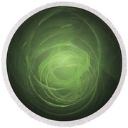 Fractal - Easter Love Round Beach Towel
