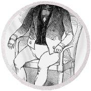 Francois Vidocq (1775-1857) Round Beach Towel