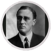 Franklin Delano Roosevelt Round Beach Towel by International  Images