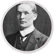 Frederick Soddy, English Radiochemist Round Beach Towel