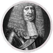 Frederick William (1620-1688) Round Beach Towel