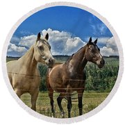Freedom Riders Round Beach Towel