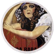 French Poster: Salome, 1918 Round Beach Towel