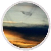 From Heaven With Love Round Beach Towel