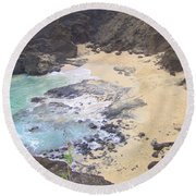 From Here To Eternity Beach Round Beach Towel