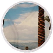 From Today On Round Beach Towel