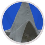 Frosted Tee Pee Round Beach Towel