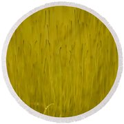 Fruiting Moss Round Beach Towel