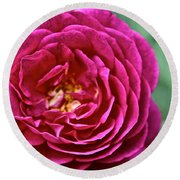 Full Bloom Round Beach Towel