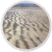 Galveston: Beach Round Beach Towel
