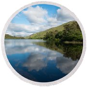 Galway Reflections Round Beach Towel