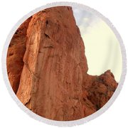 Garden Of The Gods 2 Round Beach Towel