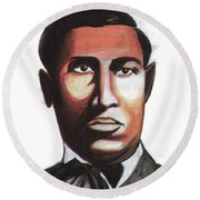 Garrett Morgan Round Beach Towel