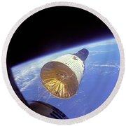 Gemini 6 Views Gemini 7 Round Beach Towel