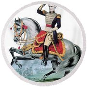General Andrew Jackson, Hero Of New Round Beach Towel