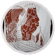 Generations - Tile Round Beach Towel