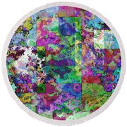Geometrix  Round Beach Towel