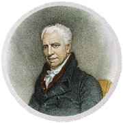 George Crabbe (1754-1832) Round Beach Towel