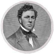 George Steers (1820-1856) Round Beach Towel