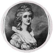 Georgiana Shipley (1752-1806) Round Beach Towel
