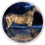Gericault: Horse Round Beach Towel