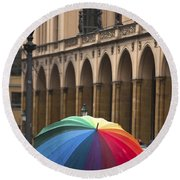 German Umbrella Round Beach Towel