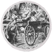 Germany: Seven Weeks War Round Beach Towel
