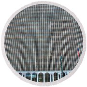 Giant Bank Of M And T Round Beach Towel