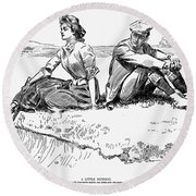Gibson: A Little Incident Round Beach Towel