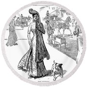 Gibson: Half Mourning Round Beach Towel