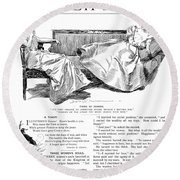 Gibson: Women, 1897 Round Beach Towel